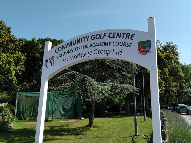 p3 golf banner