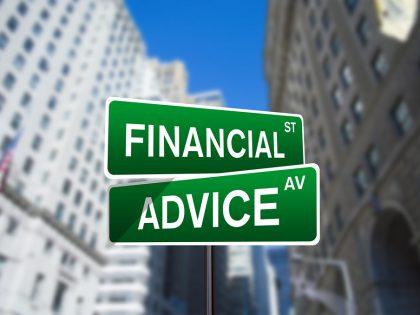 f9inancial advice
